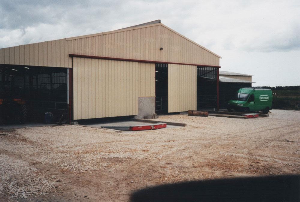GAEC Brochet Puaud - Archive construction bâtiment