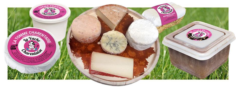 Produits laitiers fermiers La Vache Charentaise
